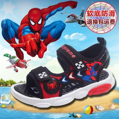 男童凉鞋2020新款夏季儿童凉鞋男中大童小学生软底防滑小孩沙滩鞋