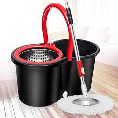 热销拖把桶地拖布桶墩布桶拖托把旋转式拖把家用免手洗干湿两用