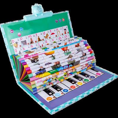 2020新款宝宝早教有声挂图拼音识字卡片智力开发字母表幼儿童玩具