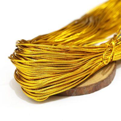 金线银线金色圆形无弹力线绳金店吊牌工艺线金丝挂件装饰细金葱线