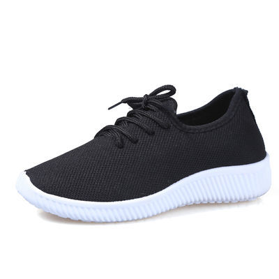 【买一送一】老北京布鞋男运动跑步鞋中老年健软底步鞋父亲爸爸鞋
