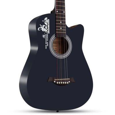吉他初学者41寸单板38寸木吉他民谣学生练习新手入门成人男女吉他