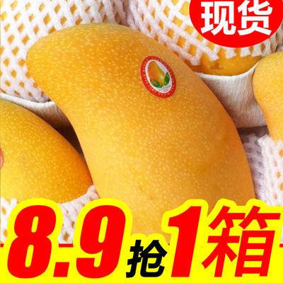 【爆甜】海南金煌芒果水果新鲜整箱应季水果水仙芒整箱批发现摘