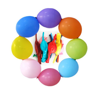 加厚针尾6寸10寸12寸尾巴气球婚庆拱门场景背景造型装饰布置100个