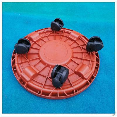移动加厚塑料托盘花盆花架滚轮底垫底盘蓄水盆栽花盆垫底托带轱辘