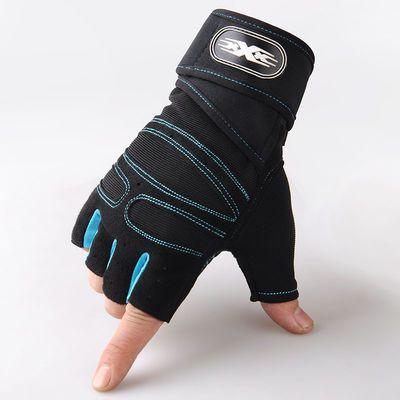健身半指手套男哑铃单杠器械训练户外护腕女运动透气战术耐磨防滑