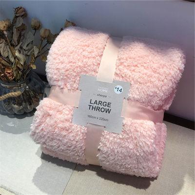 出口爆单长毛法兰绒毛毯午休毯子沙发毛毯长毛绒毯