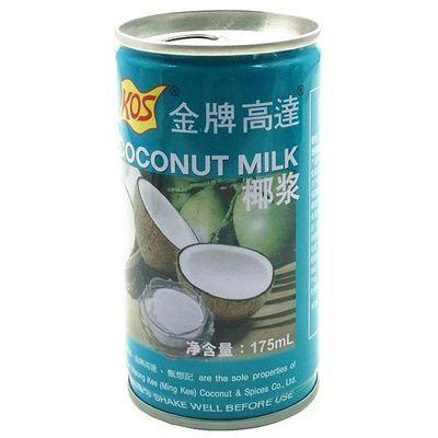 KOS金牌高达椰浆175ml毫升甄想记高达椰浆做马蹄糕西米露用原料