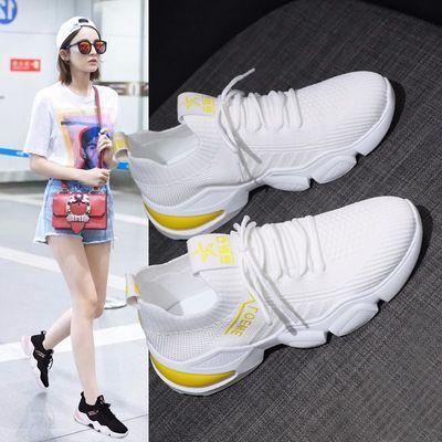 运动鞋女网面透气2020新款爆款夏季百搭薄款春夏跑步轻便小白网鞋