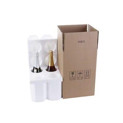 85口径6只装泡沫盒,红酒泡沫箱加五层加厚纸箱 红酒专用包装