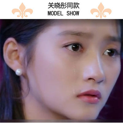 天然淡水珍珠s925纯银耳钉耳饰耳环百搭耳钩韩国耳饰品防过敏正品