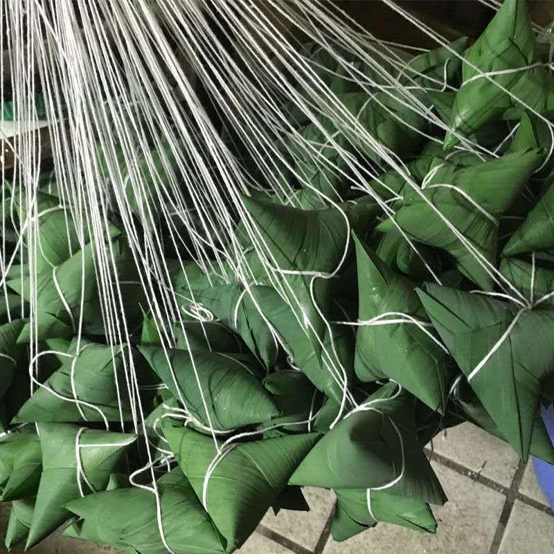 37861-【工厂直发】20粽子批发鲜肉粽蛋黄肉粽蜜枣粽端午节白米粽子-详情图