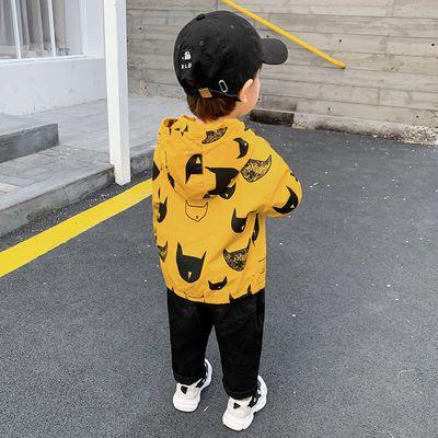 婴儿风衣外套秋装春秋宝宝男童儿童装幼儿洋气上衣1岁小童潮ZX024