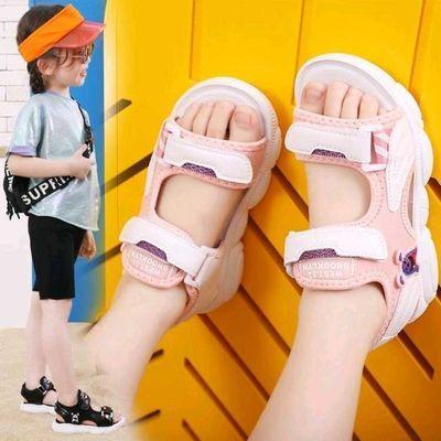 新款儿童凉鞋2020夏季男童沙滩鞋女童公主鞋中大童时尚儿童学生鞋