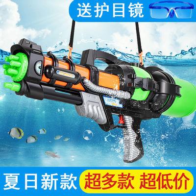 儿童水枪玩具喷水枪宝宝呲水枪小男孩背包大号成人高压泼水节沙滩