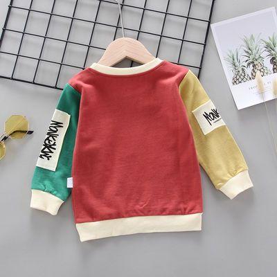 男童t恤1-5岁儿童长袖宝宝体恤男小童春装童装男宝宝上衣打底衫