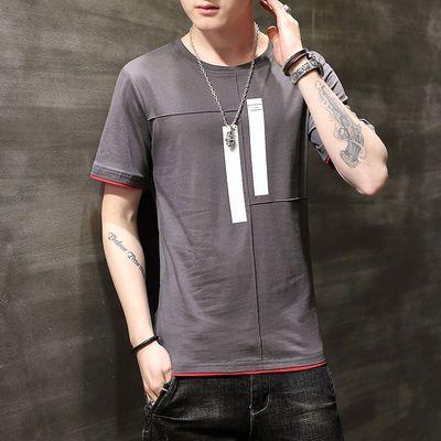 【便宜卖】男士夏季纯棉短袖T恤学生百搭汗衫宽松体恤潮流半袖衫