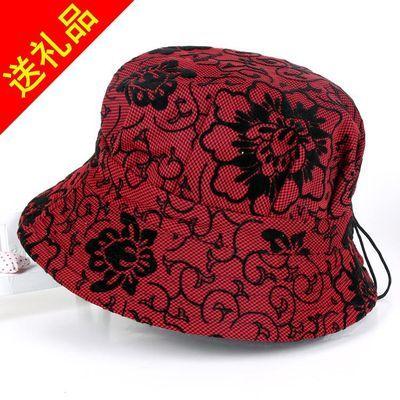 春夏季中老年人帽子女士盆帽渔夫帽薄款遮阳帽夏天老人帽奶奶婆婆