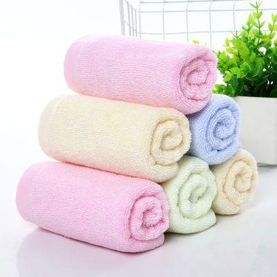 【赔钱卖】1条包邮星家纺毛巾天丝美容巾竹纤维毛巾儿童童巾柔软