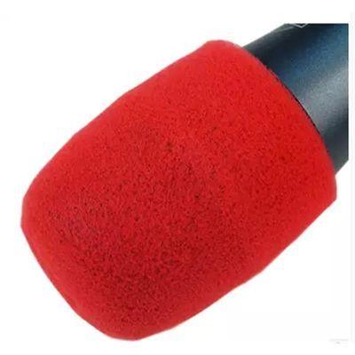 KTV一次性话筒套麦套咪罩麦克风海绵套无线话筒U型双拼话筒罩