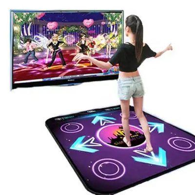 新款高清单人跳舞毯中文电视电脑两用插卡无限下载加厚包邮跳舞机