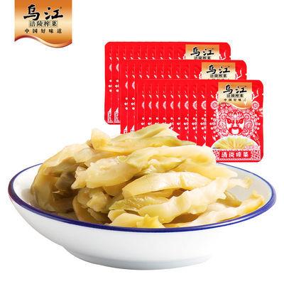 30袋烏江涪陵榨菜15g清淡榨菜絲小包裝下飯菜佐餐下飯配粥