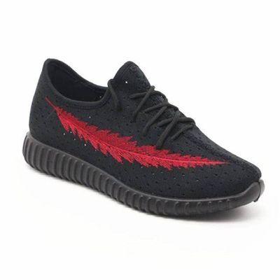 声乐老北京布鞋夏季网面男鞋羽毛情侣款男女网鞋飞织鞋透气椰子鞋