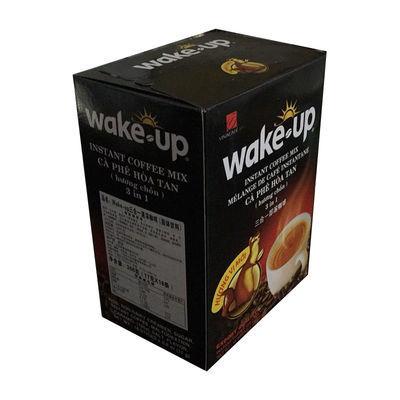 越南进口威拿咖啡wake up猫屎咖啡三合一速溶咖啡粉306g盒装