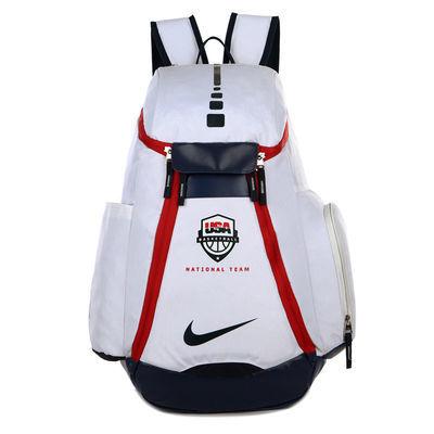双肩包USA篮球包 杜兰特詹姆斯科比NBA学生书包男运动背包