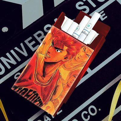 潮牌烟壳20支装烟盒男女士香烟盒创意个性潮便携铝合金外壳金属