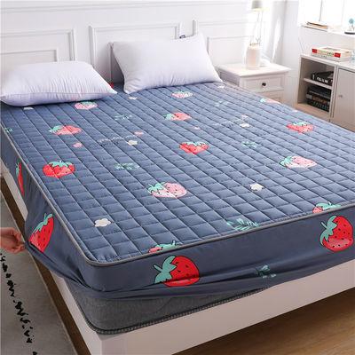 床笠夹棉加厚床罩单件床垫套席梦思保护套家用双人亲肤透气防尘罩