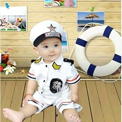 新生儿拍照服装 小猪套装 满月百天宝宝摄影服装婴儿影楼拍照衣服