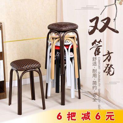 铁艺铁管方凳椅子家用凳子饭店凳椅子套凳餐桌凳椅子古筝麻将凳椅