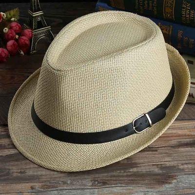 海宁皮帽子皮礼帽中老年男士休闲爵士帽秋冬季上海滩绅士帽