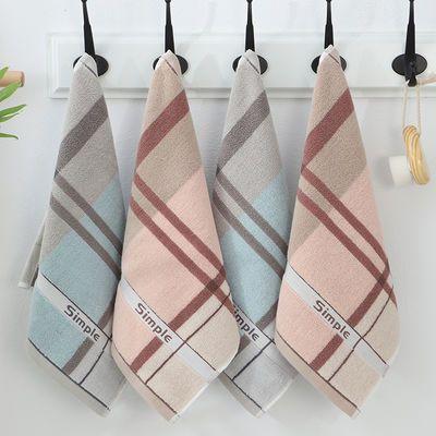 1-6条装纯棉卡通小方巾儿童洗脸洗澡擦手巾小毛巾手绢柔软吸水