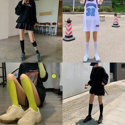 夏季长筒袜子女韩版ins潮中筒袜学生小腿袜秋冬季高筒袜薄款日系