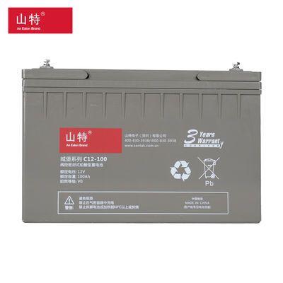 山特C12-120 UPS不间断电源 专用蓄电池 SANTAK 城堡系列12V100AH