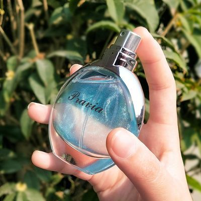 流沙鎏金香水抖音同款香水持久性女学生花果淡香网红家用男