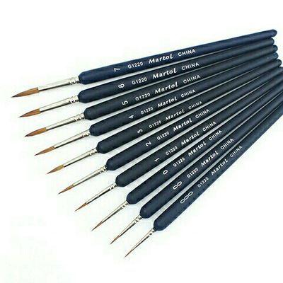 勾线笔 狼毫勾线笔 水彩画笔 水粉笔 丙烯画 油画 工笔画