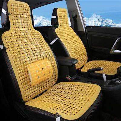 夏天通风汽车坐垫夏季凉垫塑料座椅垫面包车大小客车货车单片座垫