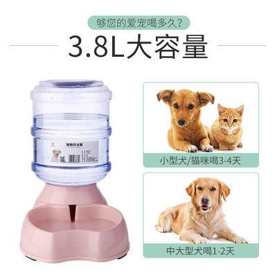 狗狗自动饮水机喂食器喂食盆泰迪喝水神器猫喂水喝水碗宠物饮水器