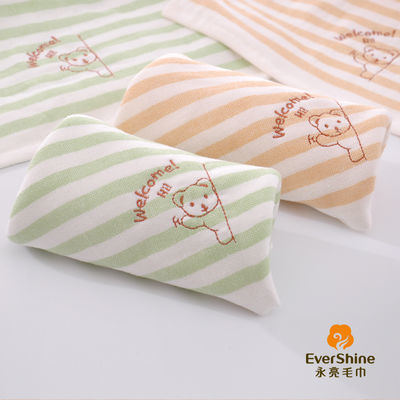 永亮正品儿童婴儿全棉卡通洗脸巾毛巾超柔长方形洗澡巾吸水不掉毛