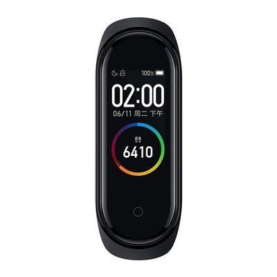 小米手环4 智能蓝牙男女款计步器信息天气心率睡眠监测手表