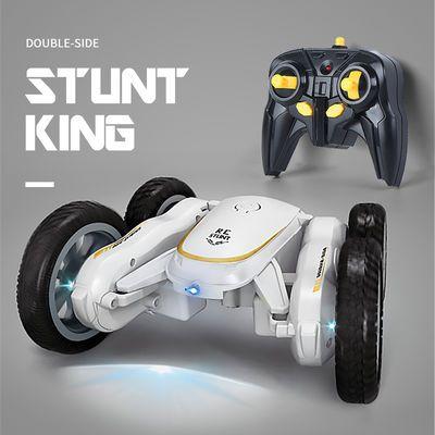 翻滚特技车遥控车翻斗车越野漂移遥控汽车模充电动儿童玩具车男孩