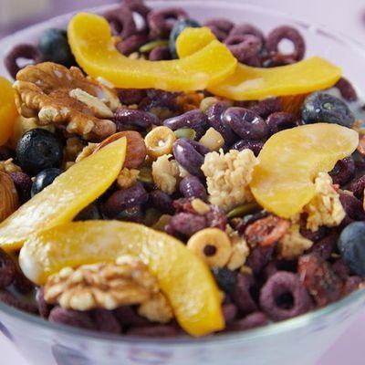 薄荷健康EasyFun山药紫薯圈粗粮麦片早餐即食饱腹学生营养代餐