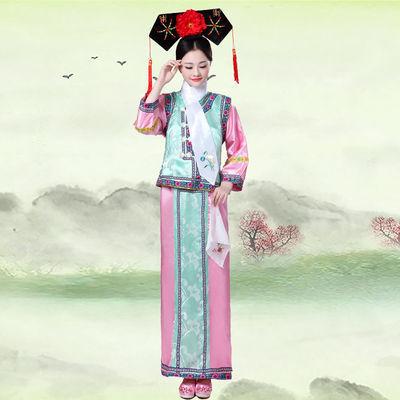清朝皇帝装清朝古装演出服 皇帝皇后龙袍服装 汉武帝龙袍唐龙汉服