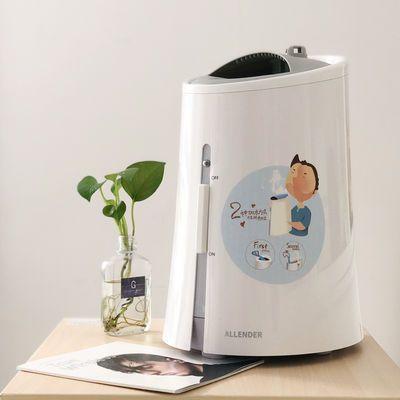 ALLENDER热蒸汽加湿器家用卧室上加添加水自来水孕妇婴儿暖雾蒸脸
