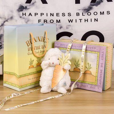 美国bunniesbythebay小羊公仔毛绒玩具玩偶抖音同款小坐羊小绵羊