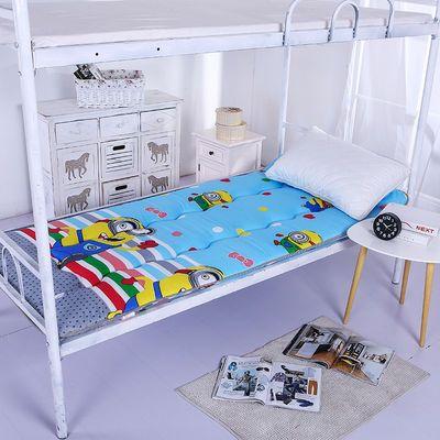 加厚学生宿舍床垫0.9米卡通单人床褥垫子双人1.5m海绵垫1.8软垫背