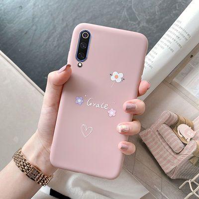 小米9手机壳硅胶超薄防摔软壳Xiaomi9全包手机套新款卡通可爱少女